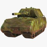 Tank Panzer VIII MAUS modelo 3d