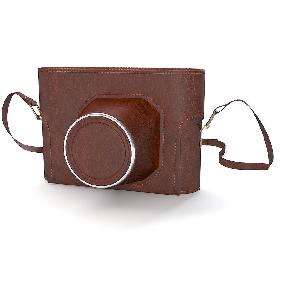 Vintage Camera Case royalty-free 3d model - Preview no. 3