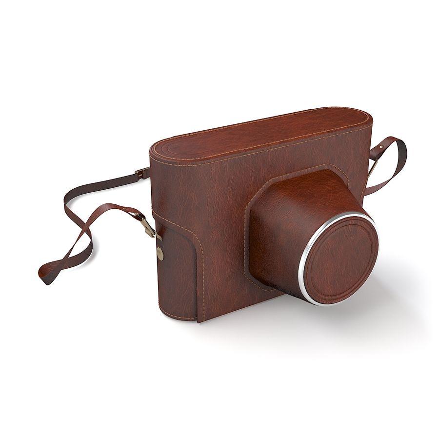 Vintage Camera Case royalty-free 3d model - Preview no. 4
