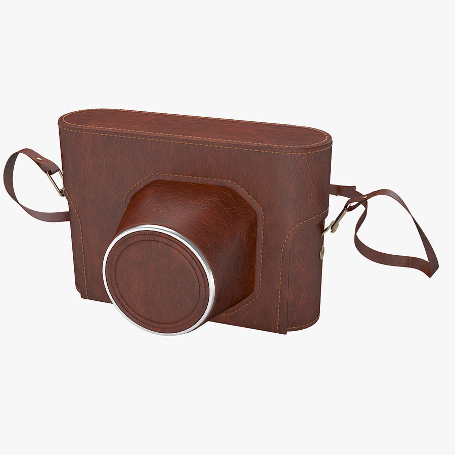 Vintage Camera Case royalty-free 3d model - Preview no. 1
