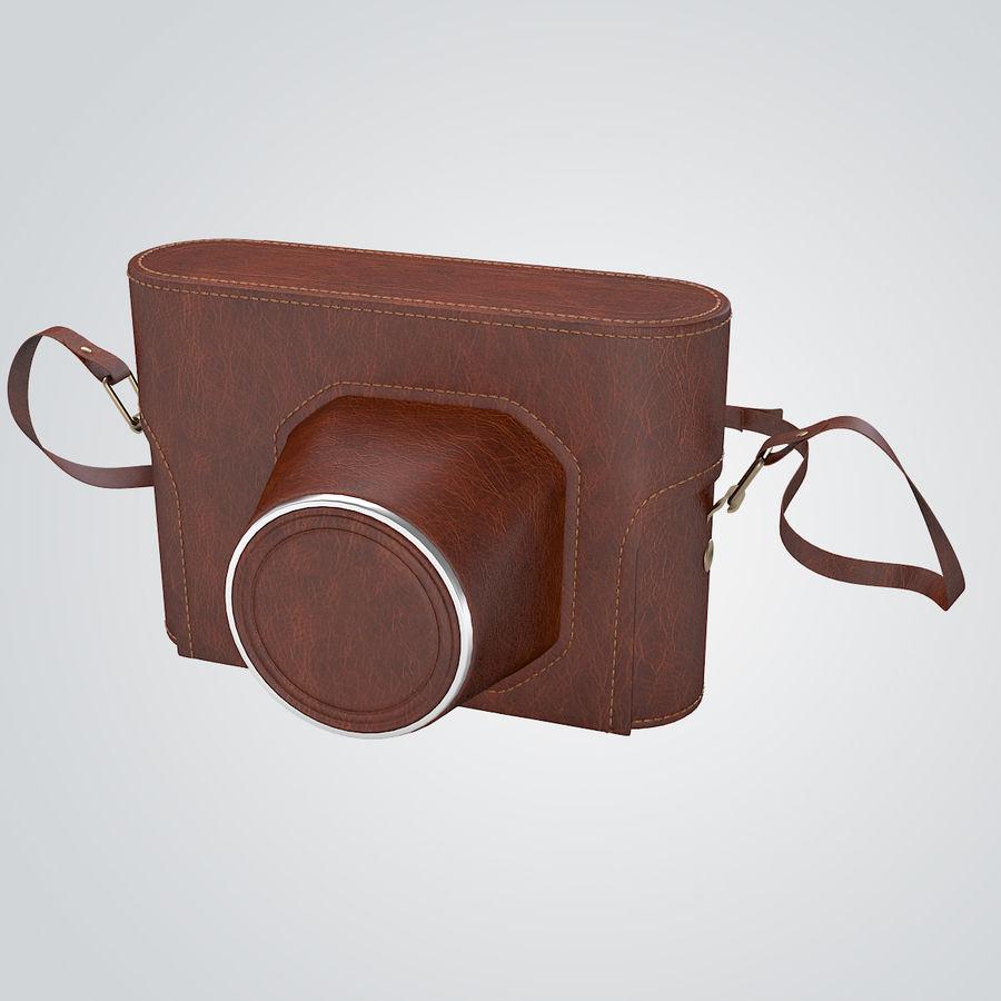 Vintage Camera Case royalty-free 3d model - Preview no. 2