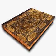 Quran Islamic Holy Book 3d model