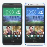 HTC Desire 620 Black And White 3d model