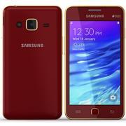 Samsung Z1 Red 3d model