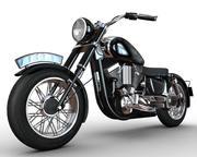 Cartoon-Motorrad 3d model