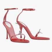 Rene Caovilla Nyssia Sandals 3d model