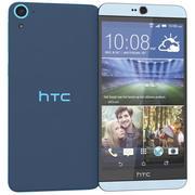HTC Desire 826蓝色 3d model