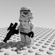 Lego Stormtrooper 3d model