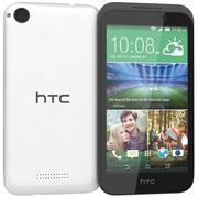 HTC Desire 320 White 3d model