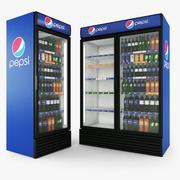 Pepsi Fridges 3d model
