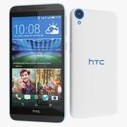 HTC Desire 820 черно-белый 3d model