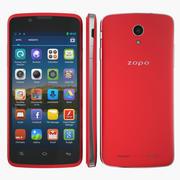 Zopo ZP590 Red modelo 3d