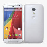 Motorola Moto G 2014 y G 2014 Dual SIM Blanco modelo 3d