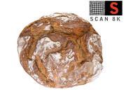 Хлеб 8К макро детали 3d model