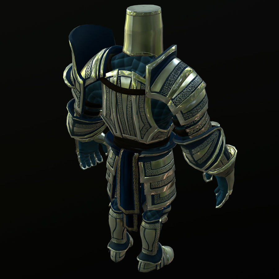 Game Knights (Series A) K2c royalty-free 3d model - Preview no. 18