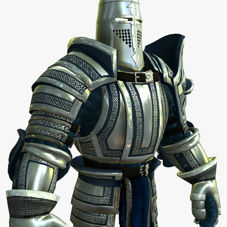 Game Knights (Series A) K2c royalty-free 3d model - Preview no. 12