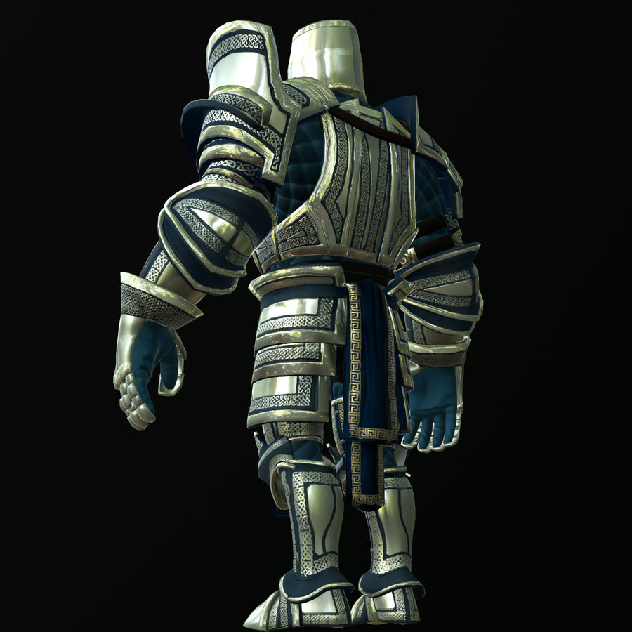 Game Knights (Series A) K2c royalty-free 3d model - Preview no. 19