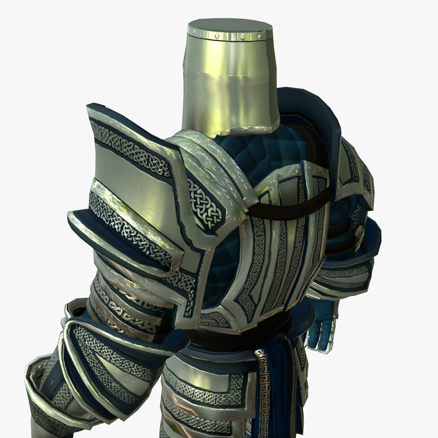 Game Knights (Series A) K2c royalty-free 3d model - Preview no. 6