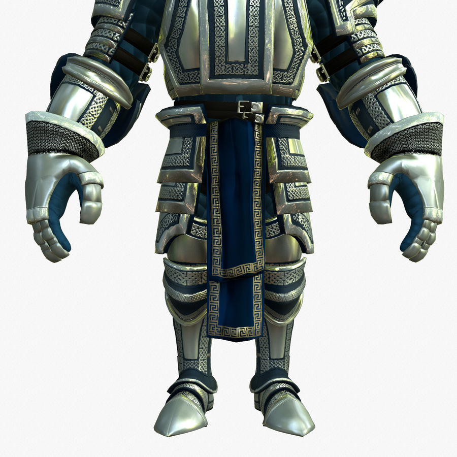 Game Knights (Series A) K2c royalty-free 3d model - Preview no. 15