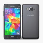 三星Galaxy Grand Prime Grey 3d model