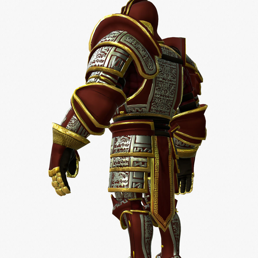 Game Knights (Series A) K3b royalty-free 3d model - Preview no. 5