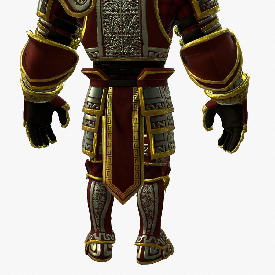Game Knights (Series A) K3b royalty-free 3d model - Preview no. 19