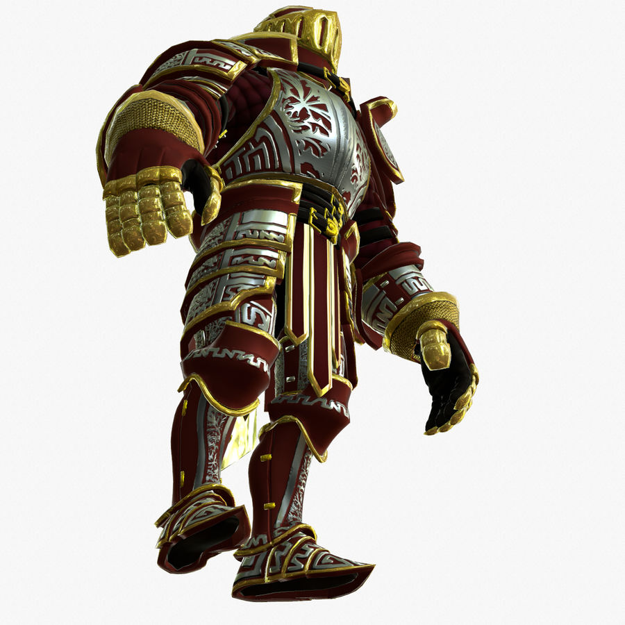 Game Knights (Series A) K3b royalty-free 3d model - Preview no. 8