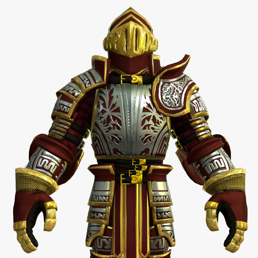 Game Knights (Series A) K3b royalty-free 3d model - Preview no. 14