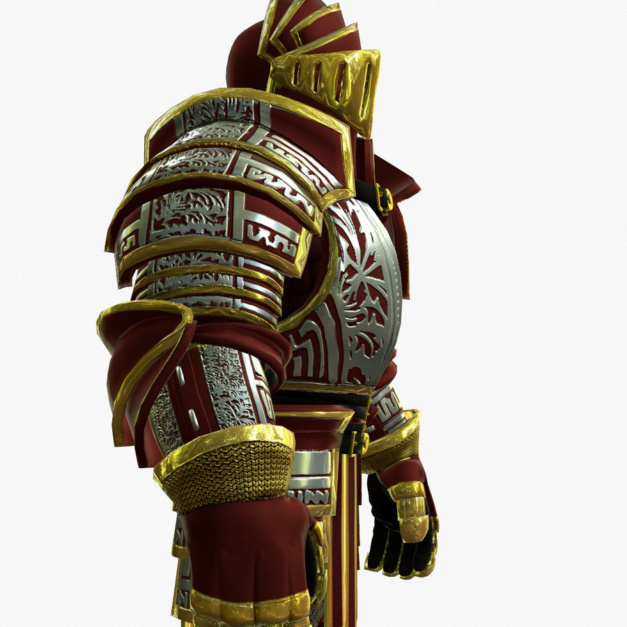 Game Knights (Series A) K3b royalty-free 3d model - Preview no. 10