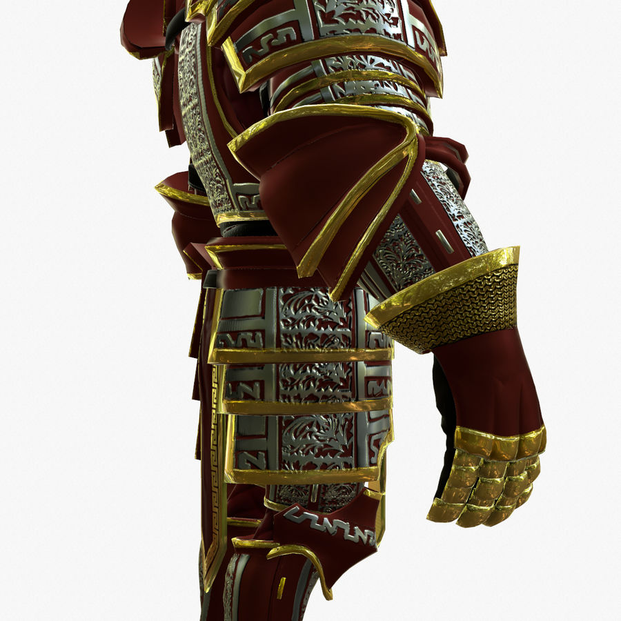 Game Knights (Series A) K3b royalty-free 3d model - Preview no. 11