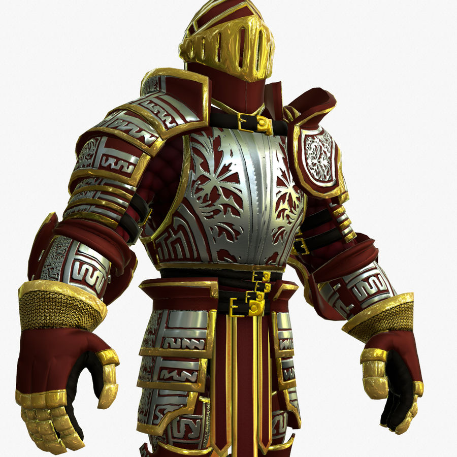 Game Knights (Series A) K3b royalty-free 3d model - Preview no. 13