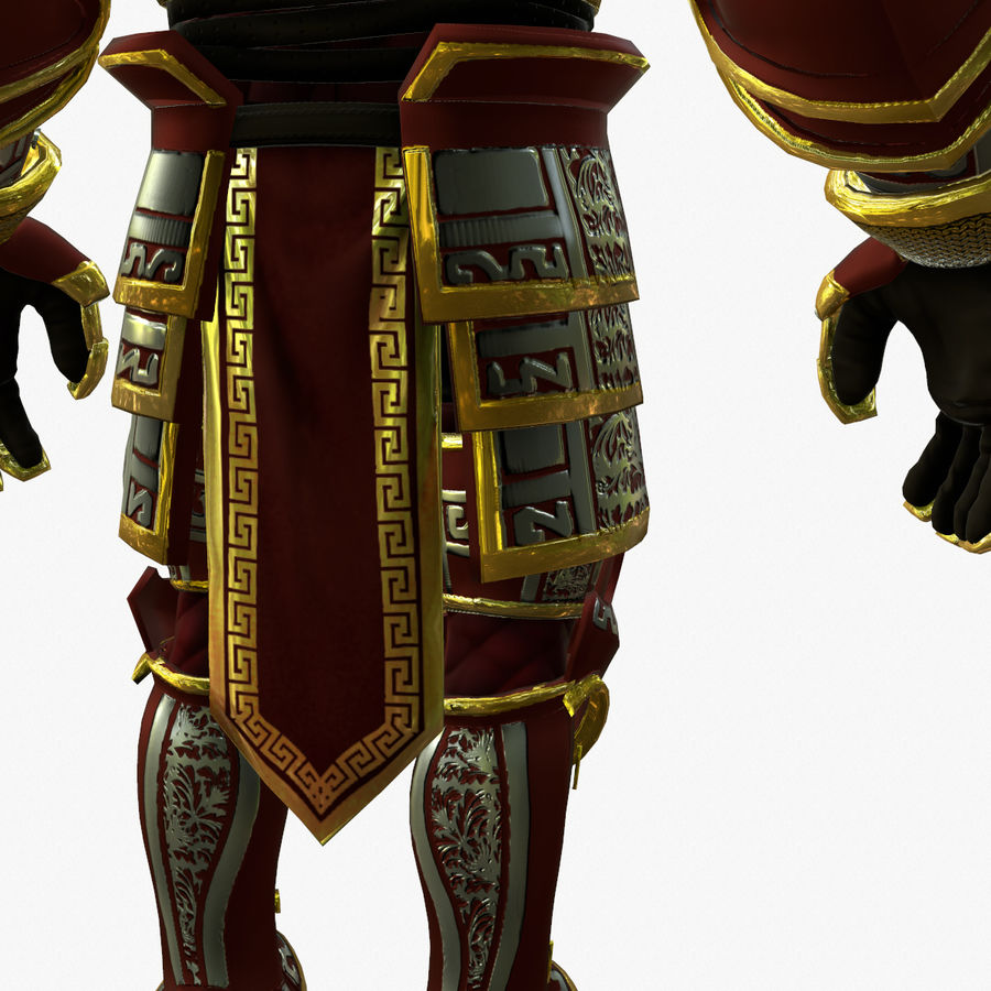 Game Knights (Series A) K3b royalty-free 3d model - Preview no. 18