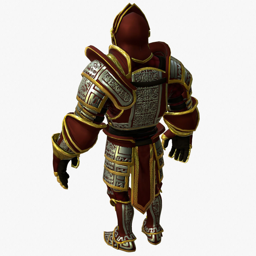 Game Knights (Series A) K3b royalty-free 3d model - Preview no. 7