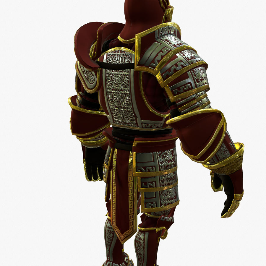 Game Knights (Series A) K3b royalty-free 3d model - Preview no. 4
