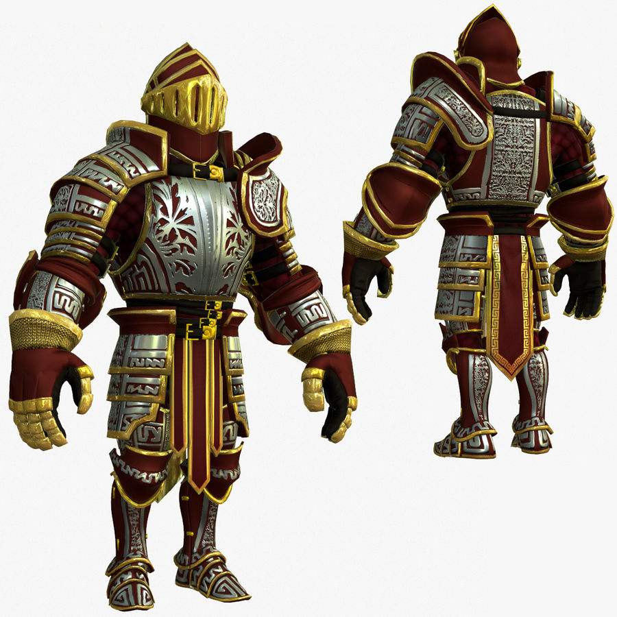 Game Knights (Series A) K3b royalty-free 3d model - Preview no. 1