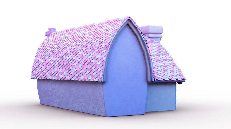 Maya Masal karikatür evi royalty-free 3d model - Preview no. 3