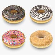 도넛 컬렉션 3d model