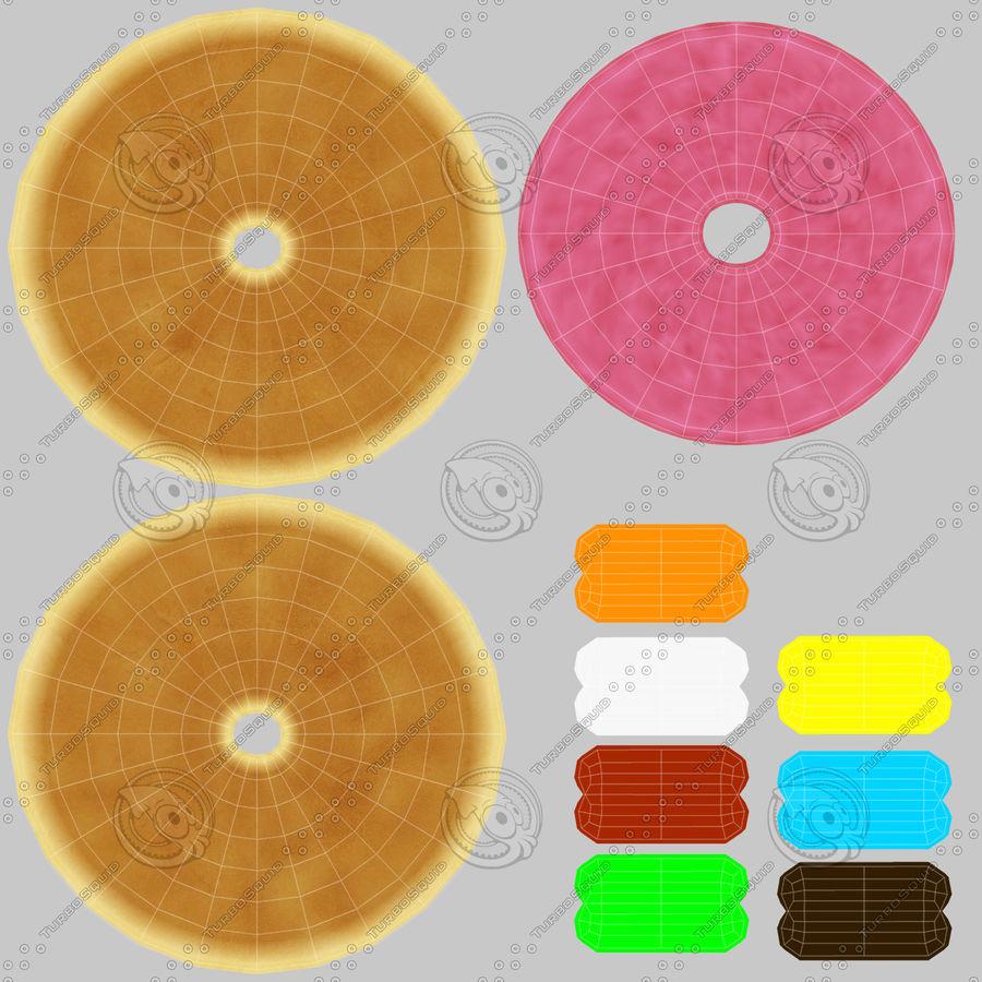 Donut Koleksiyonu royalty-free 3d model - Preview no. 22