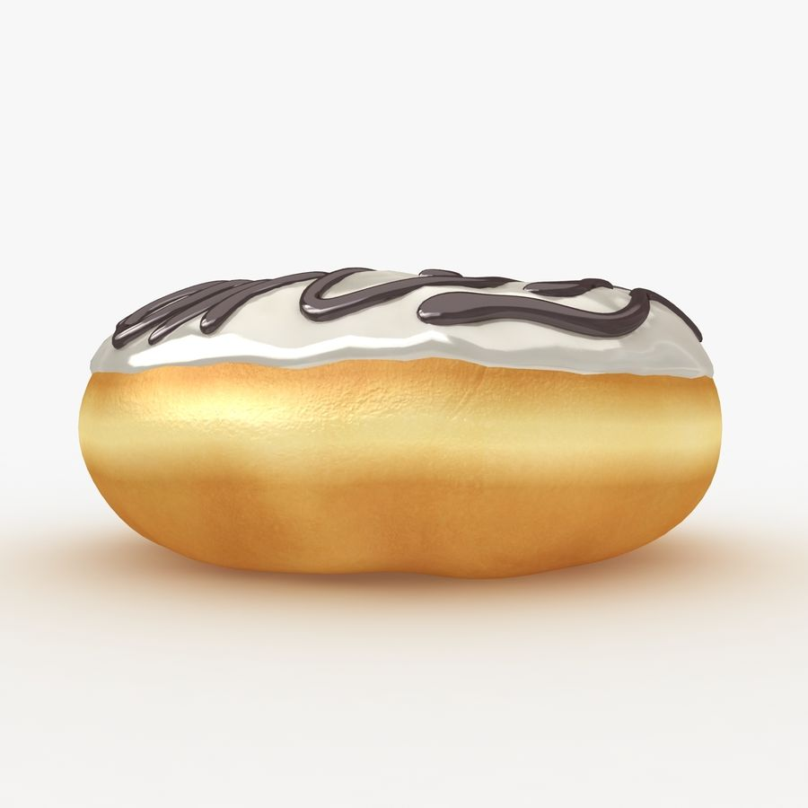 Donut Collection royalty-free 3d model - Preview no. 11