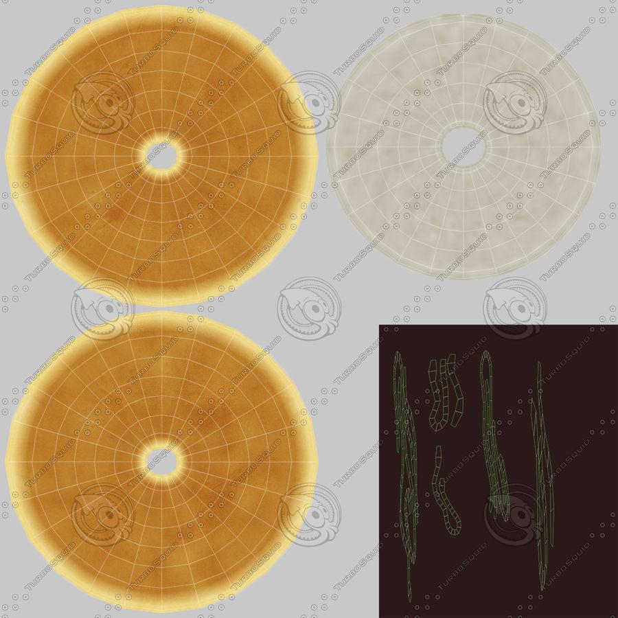 Donut Koleksiyonu royalty-free 3d model - Preview no. 15