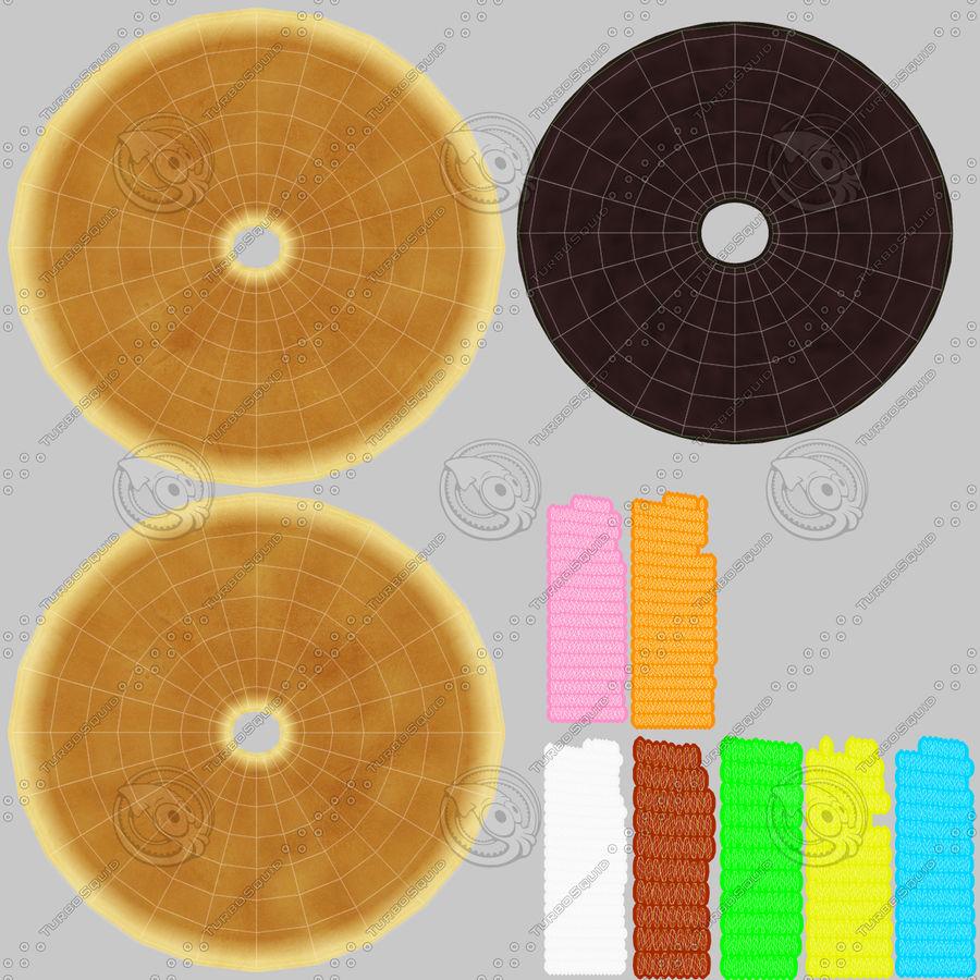 도넛 컬렉션 royalty-free 3d model - Preview no. 8