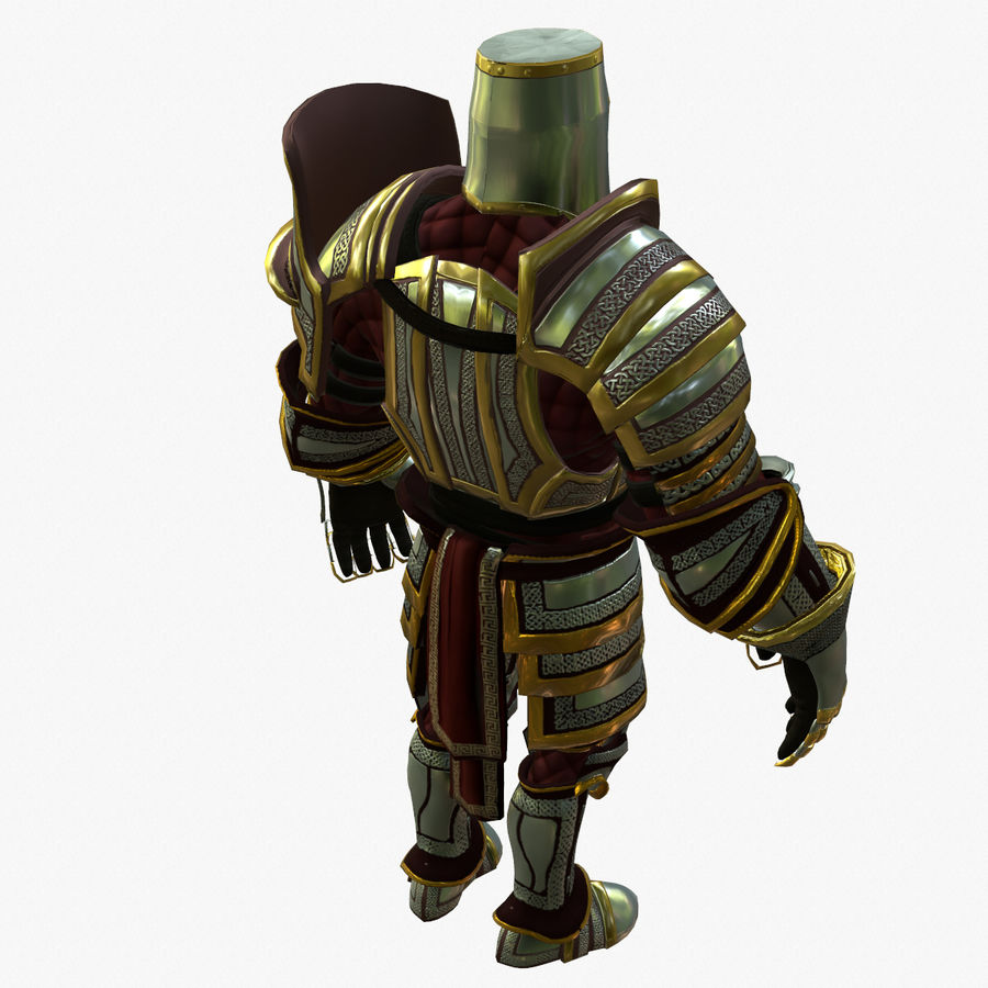 Game Knights (Series A) K2b royalty-free 3d model - Preview no. 4