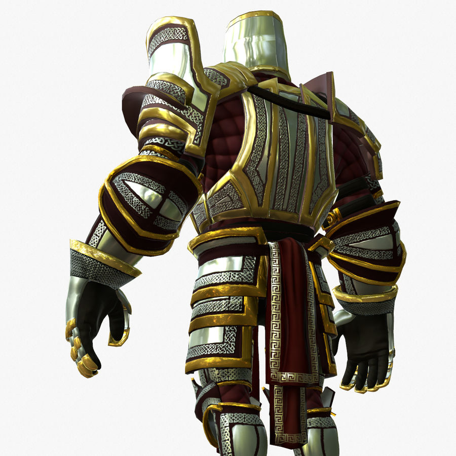 Game Knights (Series A) K2b royalty-free 3d model - Preview no. 6