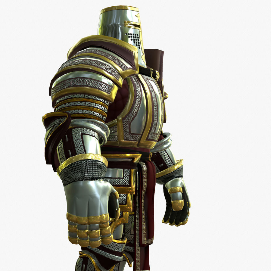 Game Knights (Series A) K2b royalty-free 3d model - Preview no. 7