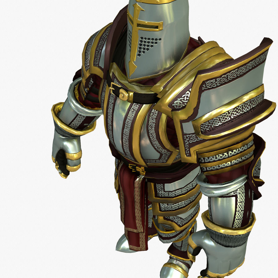 Game Knights (Series A) K2b royalty-free 3d model - Preview no. 17