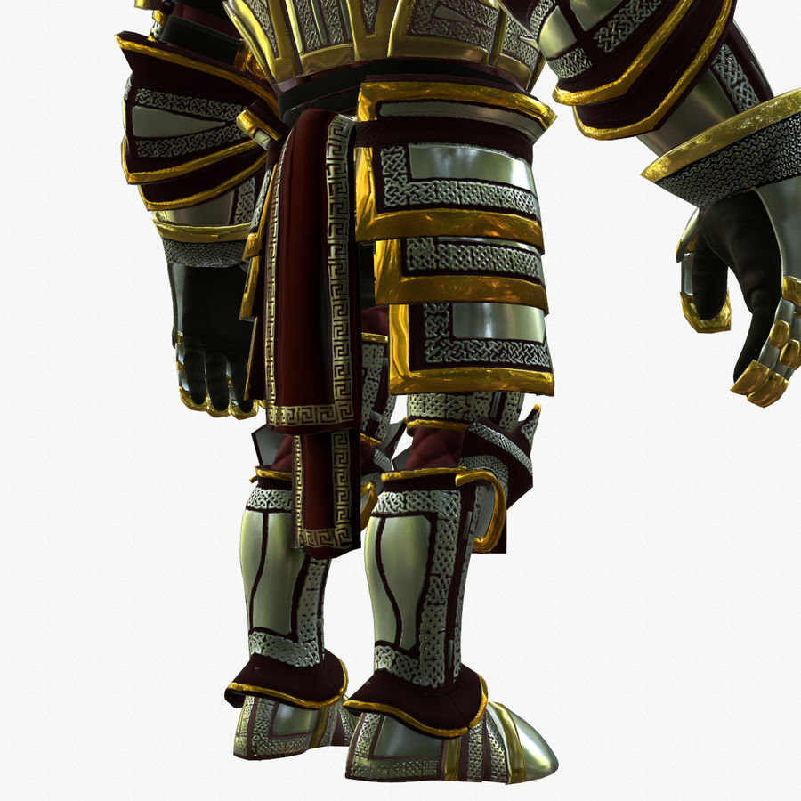 Game Knights (Series A) K2b royalty-free 3d model - Preview no. 14