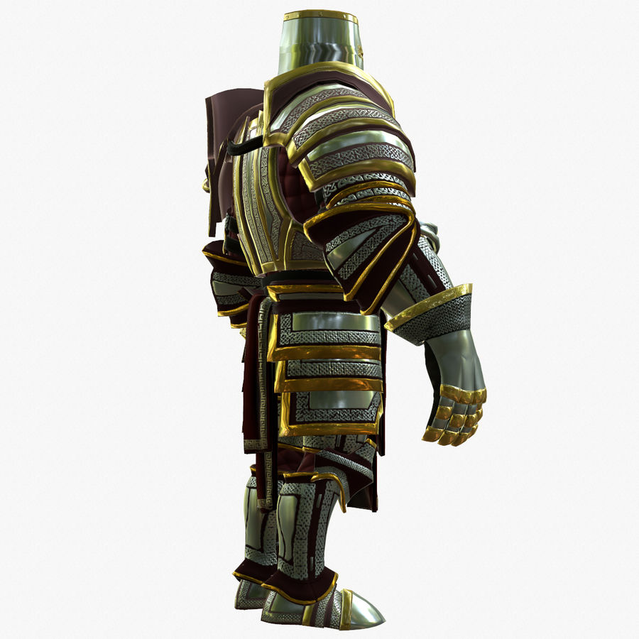 Game Knights (Series A) K2b royalty-free 3d model - Preview no. 9