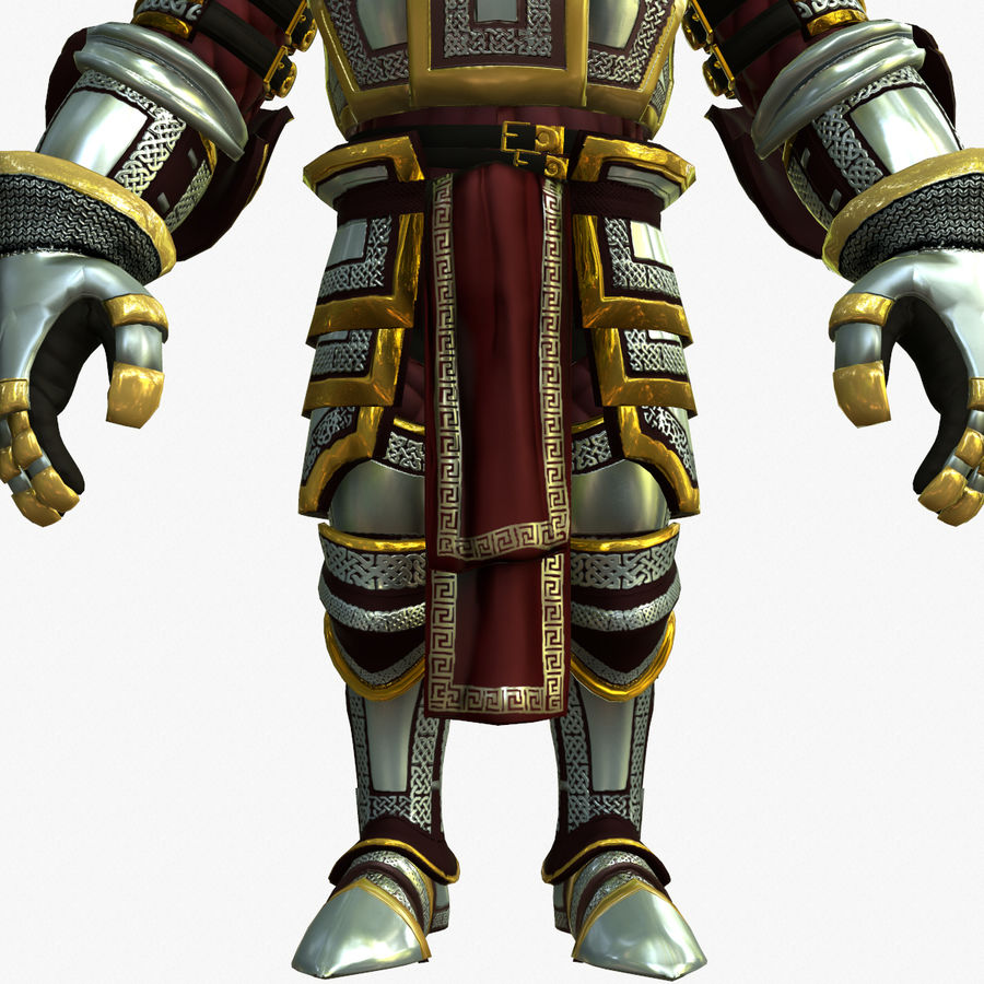 Game Knights (Series A) K2b royalty-free 3d model - Preview no. 13
