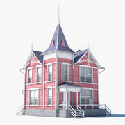 Pink House 3d model
