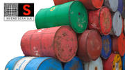 Petrol Oil Barrel 3d model